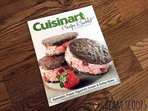 Cuisinart ICE-21 recipe booklet