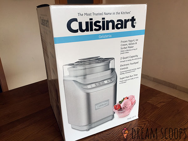 Cuisinart ICE-70 boxed