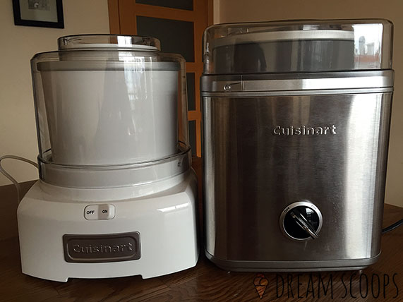 Cuisinart ICE-21 and ICE-30BC fronts