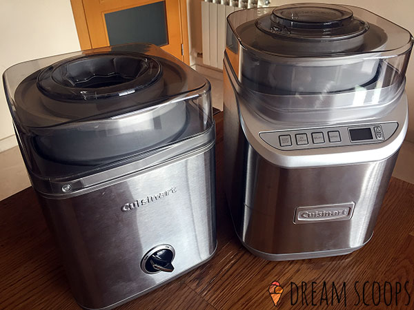 Cuisinart ICE-30BC vs ICE-70 size