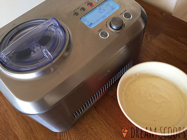 Breville Smart Scoop bci600xl with mixture