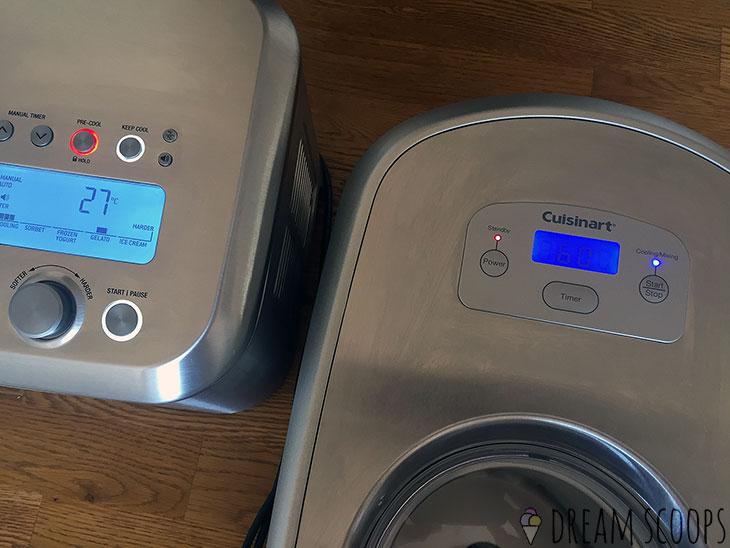 Breville Smart Scoop vs Cuisinart ICE-100