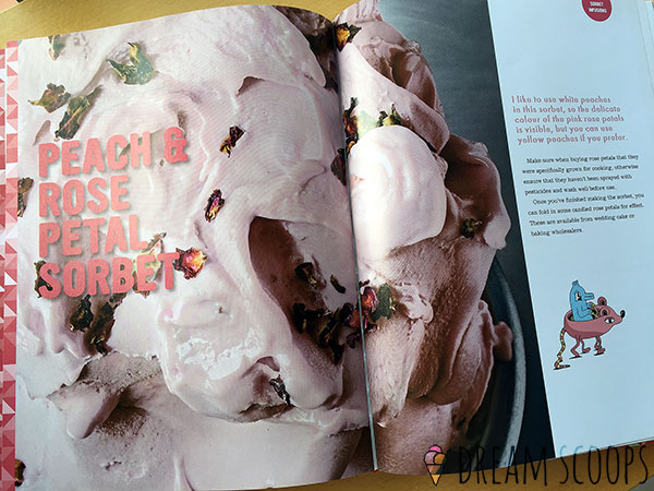Gelato Messina: The Recipes peach rose sorbet