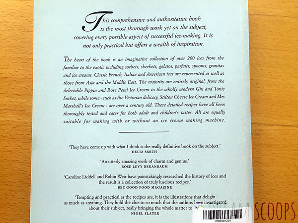 Ices: The Definitive Guide back cover