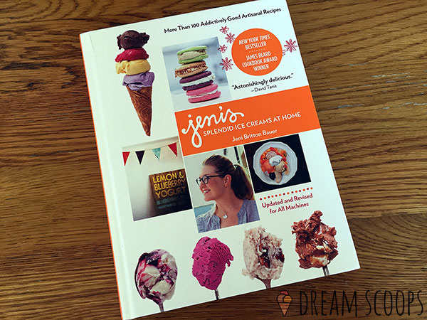 Jenis ice cream recipe book