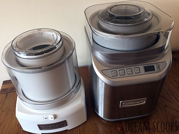 Cuisinart ICE-21 and ICE-70: both have great build quality