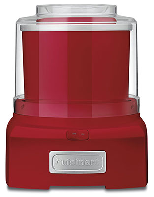 Cuisinart ICE-21R 1.5 quart red machine