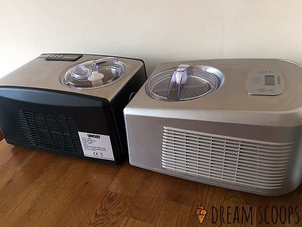 Cuisinart ICE-100 vs Whynter ICM-15LS air vents