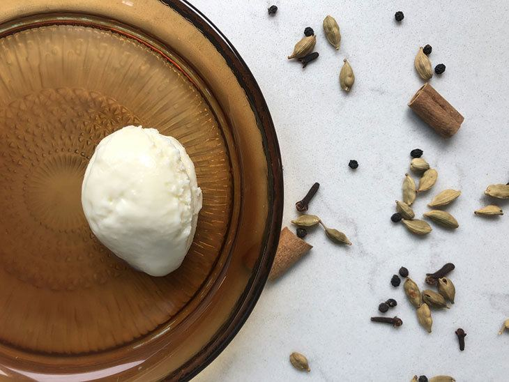 Chai Spice Ice Cream
