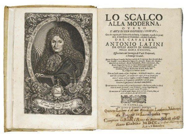 Antonio Latini's Recipe Book